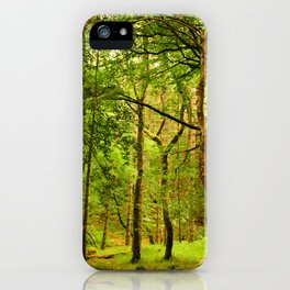 Spiritual Forest  iPhone Case
