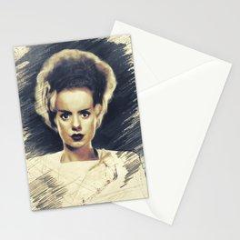 Elsa Lanchester, Vintage Actress Stationery Cards