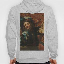 renaissance art, man with the violin Hoody