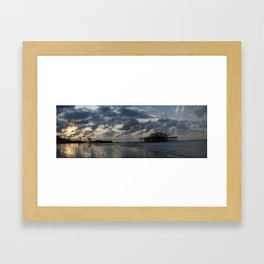 Brighton's West Pier Framed Art Print