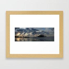 Brighton's West Pier Framed Art Print