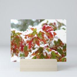 Three seasons in A Single Day Mini Art Print