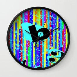 abc.123 Wall Clock