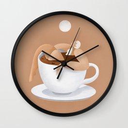 Caffeinated  Wall Clock