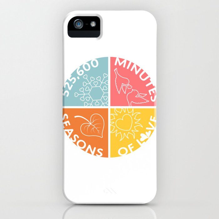 Seasons of Love iPhone Case