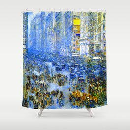 Childe Hassam Fifth Avenue New York Shower Curtain