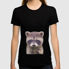 Raccoon - Colorful T-shirt