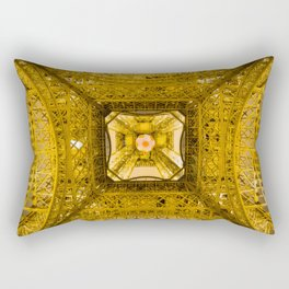New View Under Old Charm Rectangular Pillow