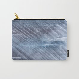 Gray Blue blurred wash drawing Carry-All Pouch