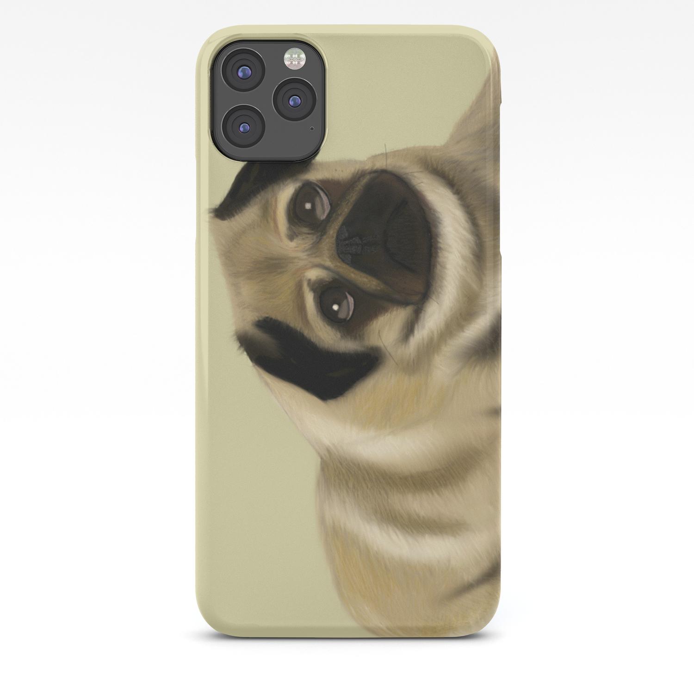 doug the pug iphone case