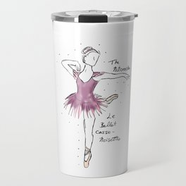 Nutcracker Ballerina Travel Mug