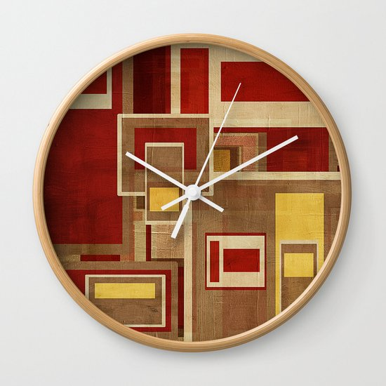 Textures/Abstract 93 Wall Clock
