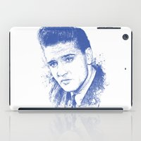 elvis presley iPad Cases featuring Elvis Presley by Chadlonius