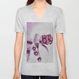 Cherry Harvest Unisex V-Neck