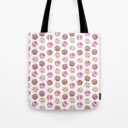 Cookie pattern Tote Bag