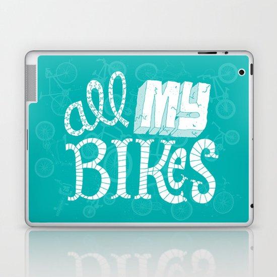 All My Bikes Laptop & iPad Skin