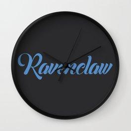 Ravenclaw Graffiti Wall Clock