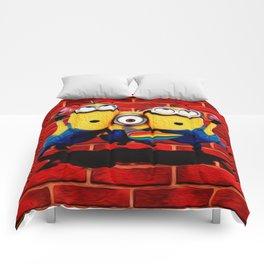 Minion Wallpaper Comforters