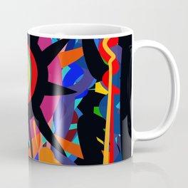 Black Sun is shining Abstract Art Street Graffiti Coffee Mug