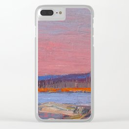 Tom Thomson A Northern Lake Canadian Landscape Artist Clear iPhone Case