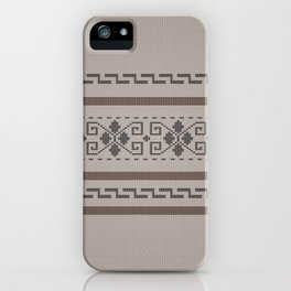 The Big Lebowski Cardigan Knit iPhone Case