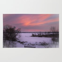 Cold Morning Sky Rug