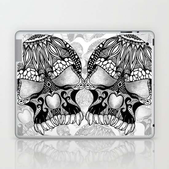 Sugar Skull.  Laptop & iPad Skin