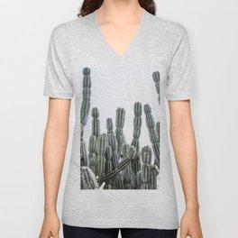 Minimalist Cactus Unisex V-Neck