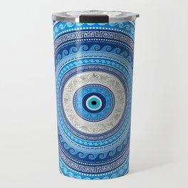 Greek Mati Mataki - Matiasma Evil Eye ornament #2 Travel Mug