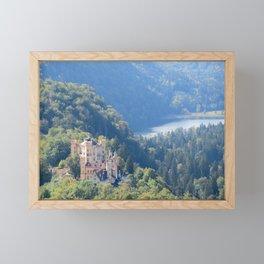 Schlöss Hohenschwangau Framed Mini Art Print