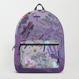 violet mountain dreams Backpack