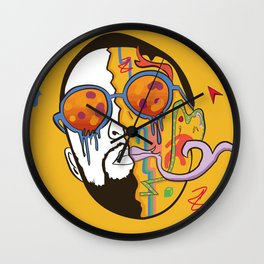 mac miller macadellic Wall Clock