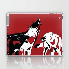 A Wolf's Bloodlust Laptop & iPad Skin