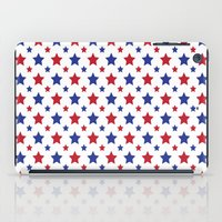 patriotic iPad Cases featuring Patriotic Stars by Jennifer Agu