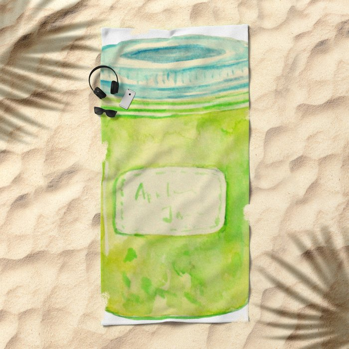 Apple Jam Beach Towel