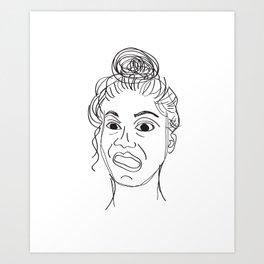 crayfie Art Print