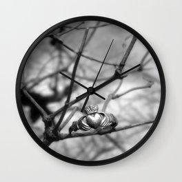 Claddagh Ring Wall Clock