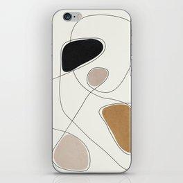 Thin Flow I iPhone Skin