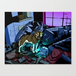 WOLF HOUSE Canvas Print