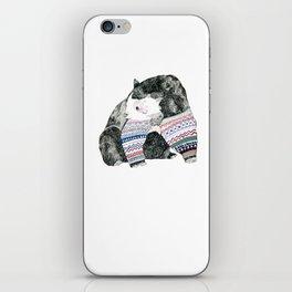 Knitted Bear iPhone Skin