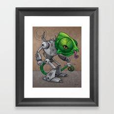 Chameleozoid Framed Art Print
