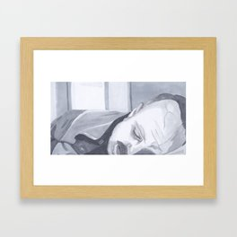 Just Let Me Sleep  Framed Art Print