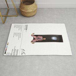 Mac Miller - Swimming Album SpecCover Poster Print - UK and US Paper Sizes Rug