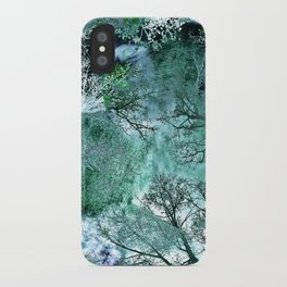 My Life in the Green Bush of Ghosts iPhone Case
