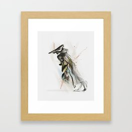 Drift Contemporary Dance Two Framed Art Print