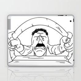 Road rager Laptop & iPad Skin