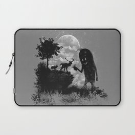 The Friendly Visitor Laptop Sleeve