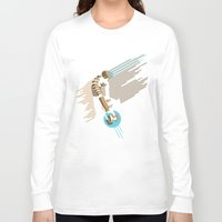 engineer Long Sleeve T-shirts featuring The Engineer by Florey