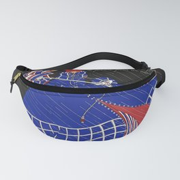 """Martha Romme Couture Design """"Nivoise"""" Fanny Pack"""