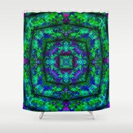 Padded Python Posterchild Shower Curtain